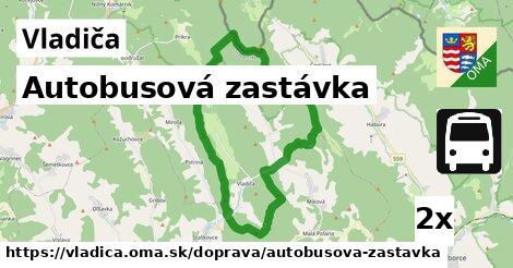 ilustračný obrázok k Autobusová zastávka, Vladiča