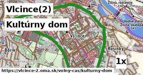 kultúrny dom v Vlcince(2)