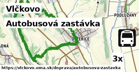 ilustračný obrázok k Autobusová zastávka, Vlčkovo