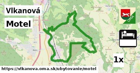 ilustračný obrázok k Motel, Vlkanová