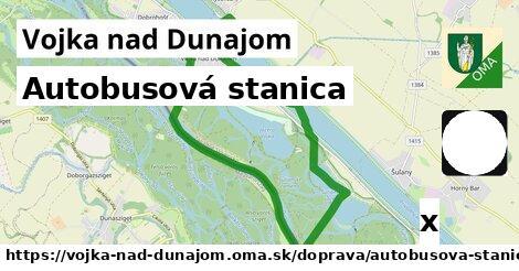 autobusová stanica v Vojka nad Dunajom