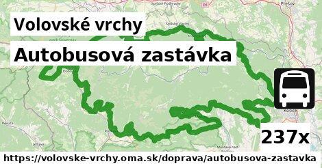 ilustračný obrázok k Autobusová zastávka, Volovské vrchy