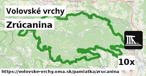 ilustračný obrázok k Zrúcanina, Volovské vrchy