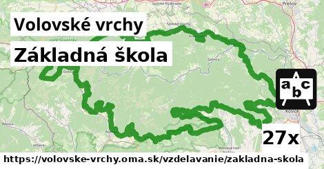 ilustračný obrázok k Základná škola, Volovské vrchy