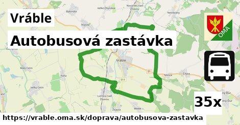 ilustračný obrázok k Autobusová zastávka, Vráble