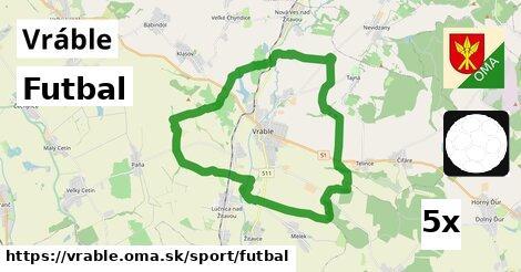 ilustračný obrázok k Futbal, Vráble