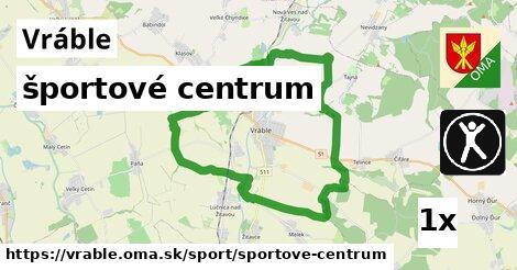 športové centrum v Vráble