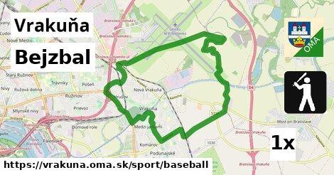 bejzbal v Vrakuňa