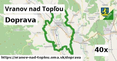 doprava v Vranov nad Topľou