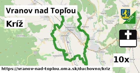 kríž v Vranov nad Topľou