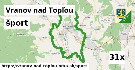 šport v Vranov nad Topľou
