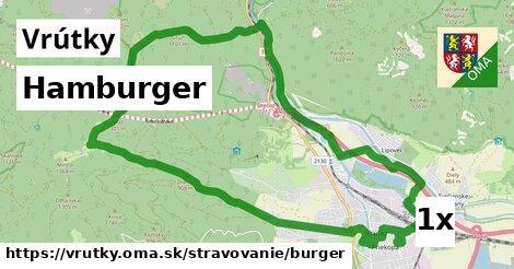 hamburger v Vrútky