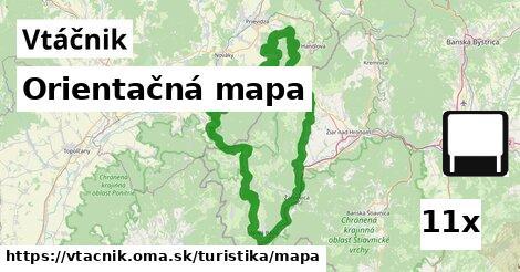 ilustračný obrázok k Orientačná mapa, Vtáčnik