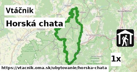 ilustračný obrázok k Horská chata, Vtáčnik