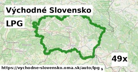 LPG v Východné Slovensko