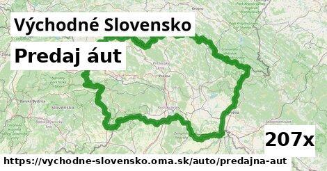 predaj áut v Východné Slovensko