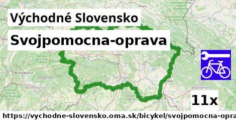 ilustračný obrázok k Svojpomocna-oprava, Východné Slovensko