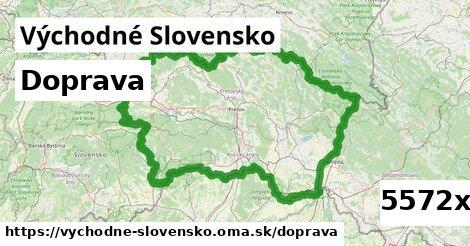 doprava v Východné Slovensko