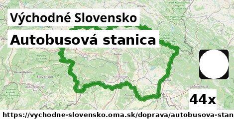 autobusová stanica v Východné Slovensko