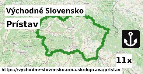 prístav v Východné Slovensko