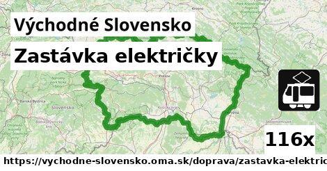 ilustračný obrázok k Zastávka električky, Východné Slovensko