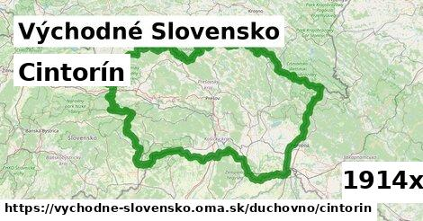 cintorín v Východné Slovensko