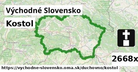 ilustračný obrázok k Kostol, Východné Slovensko
