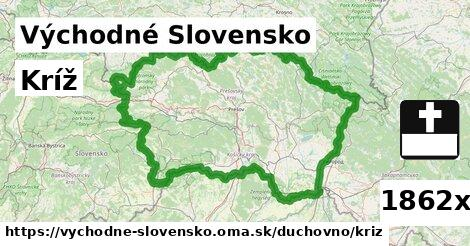 ilustračný obrázok k Kríž, Východné Slovensko