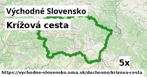 krížová cesta v Východné Slovensko