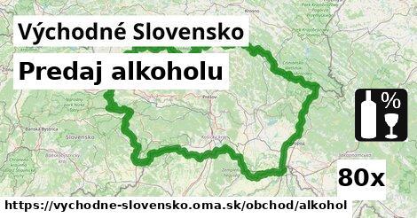 predaj alkoholu v Východné Slovensko