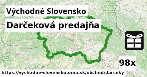 ilustračný obrázok k Darčeková predajňa, Východné Slovensko