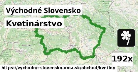 kvetinárstvo v Východné Slovensko