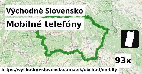 mobilné telefóny v Východné Slovensko