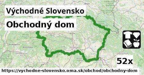 obchodný dom v Východné Slovensko