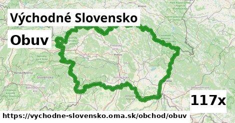 obuv v Východné Slovensko