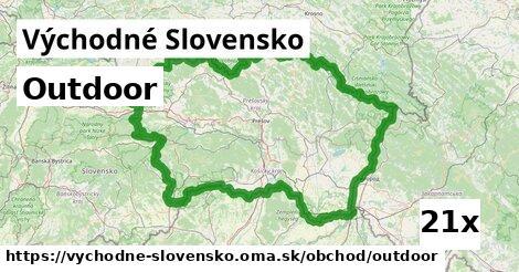outdoor v Východné Slovensko