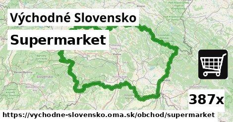 supermarket v Východné Slovensko