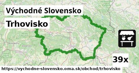 trhovisko v Východné Slovensko