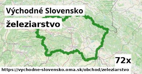 železiarstvo v Východné Slovensko