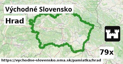 ilustračný obrázok k Hrad, Východné Slovensko