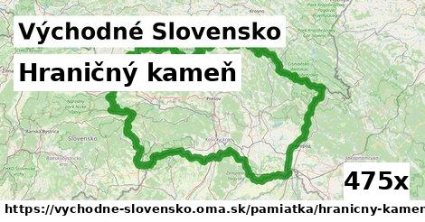 ilustračný obrázok k Hraničný kameň, Východné Slovensko