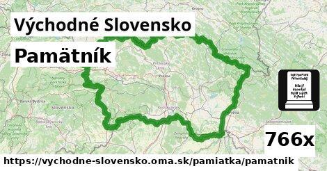 ilustračný obrázok k Pamätník, Východné Slovensko