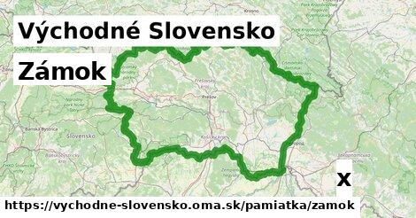 ilustračný obrázok k Zámok, Východné Slovensko