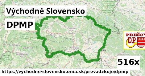 ilustračný obrázok k DPMP, Východné Slovensko