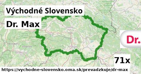 Dr. Max v Východné Slovensko
