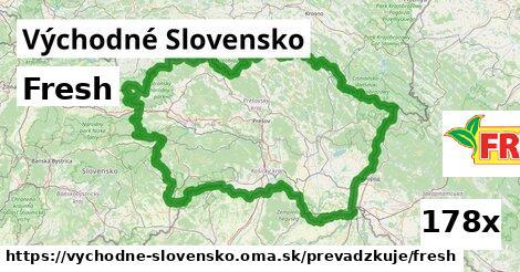 Fresh v Východné Slovensko