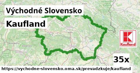 Kaufland v Východné Slovensko