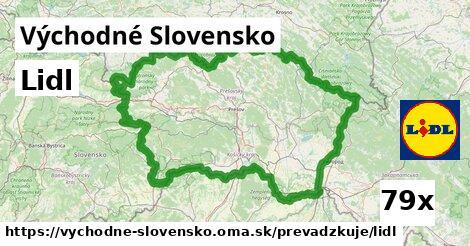 Lidl v Východné Slovensko
