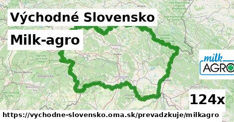 Milk-agro v Východné Slovensko
