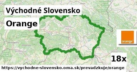 Orange v Východné Slovensko